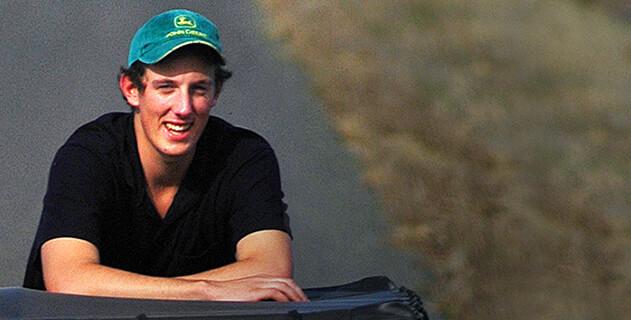 Former Student Lockie Shaw, Livestock Agent
